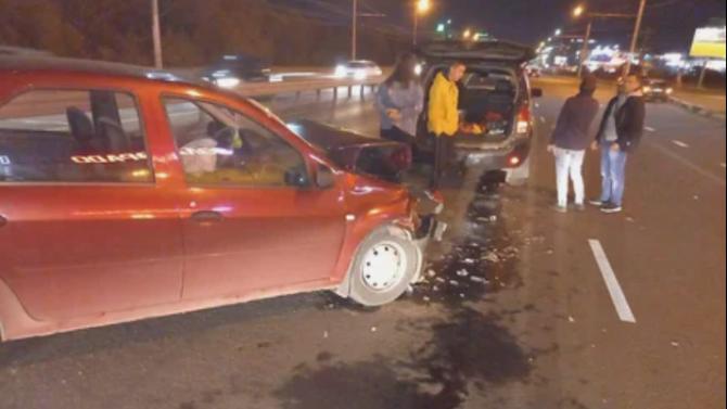 Мужчина и женщина пострадали в ДТП на Московском шоссе в Рязани