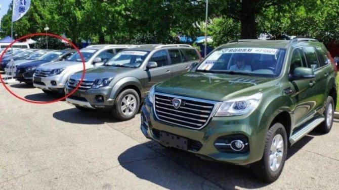 ВКНДР замечен «перелицованный» хэтчбек Lada Xray