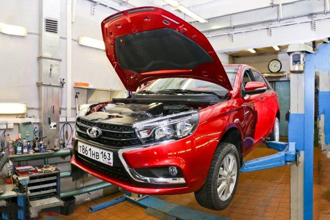 «АвтоВАЗ» увеличил стоимость технического обслуживания своих машин