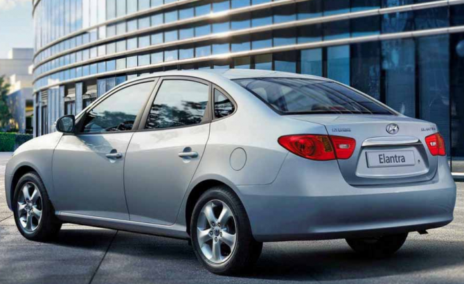 9 Hyundai Elantra