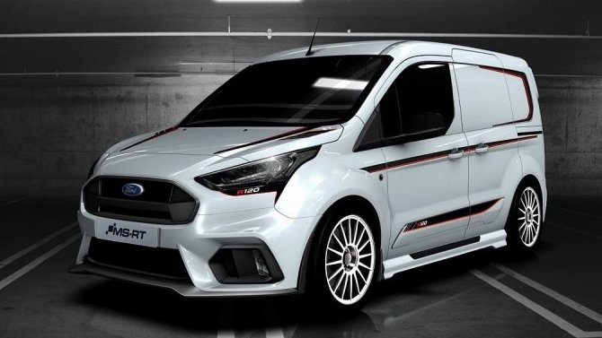 Ford Transit Connect стал раллийным болидом