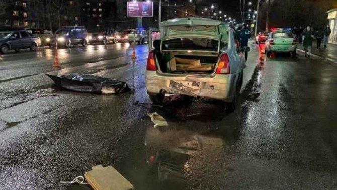 В Великом Новгороде насмерть сбили пешехода