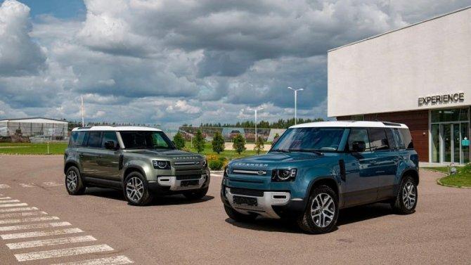 ВРоссии началась свободная продажа Land Rover Defender