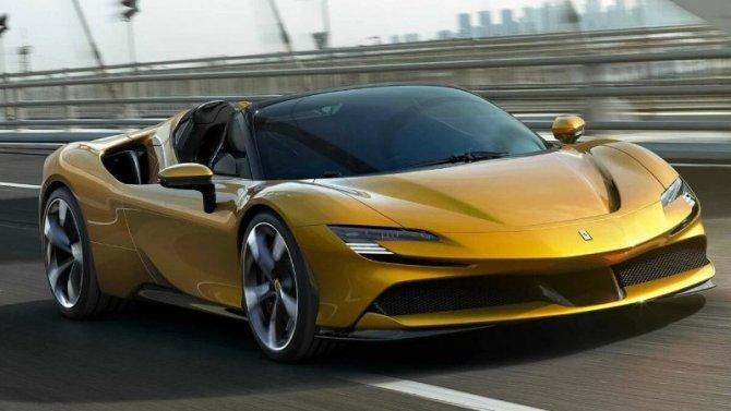 Представлен самый мощный кабриолет Ferrari