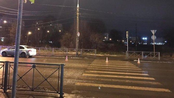 В Вологде на переходе сбили мужчину