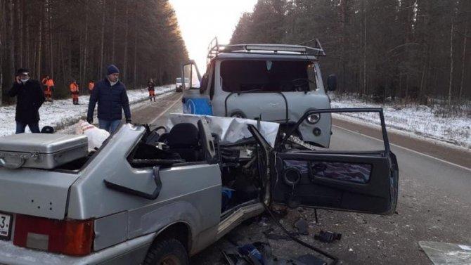 В ДТП в Кирово-Чепецком районе погибли два человека