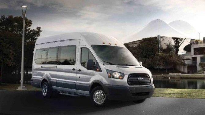 Российские продажи Ford Transit: рост продолжается