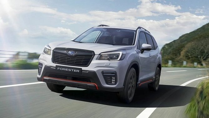 В России начат приём заказов на новый Subaru Forester Sport