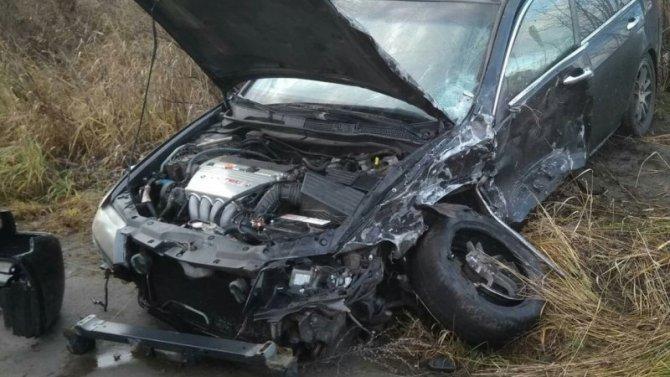 В ДТП в Петрозаводске пострадал водитель иномарки