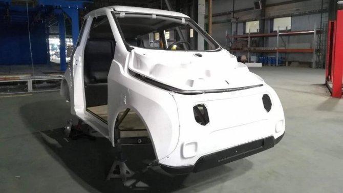 Появились снимки процесса сборки отечественных электромобилей Zetta