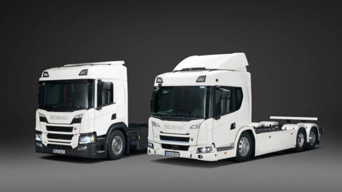 Фирма Scania провела краш-тест своего электрогрузовика