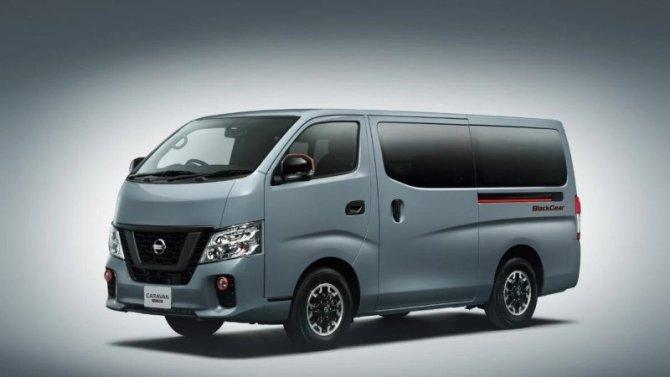 Микроавтобус Nissan NV350 получил версию для отдыха наприроде