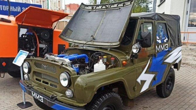 Белорусский дизель для УАЗов пойдёт впроизводство