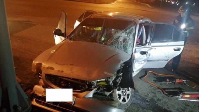 В Челябинске пьяный водитель устроил ДТП с пострадавшими