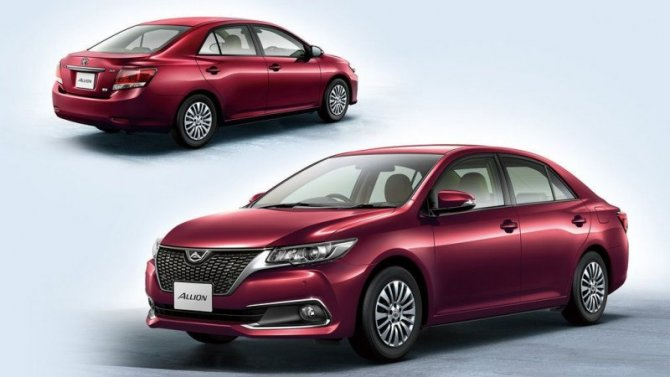 Седан Toyota Allion покинет пределы Японии