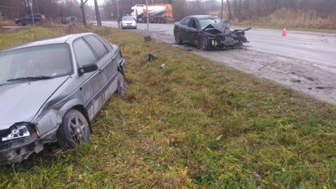 Под Калугой в ДТП погиб мужчина, пострадали женщина и младенец