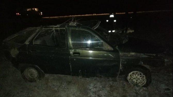 Пассажирка ВАЗа погибла в ДТП вПервомайском районе Оренбургской области