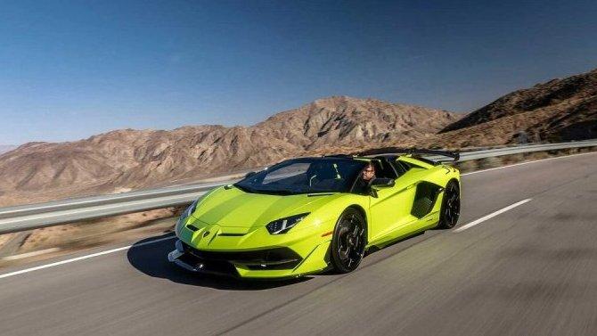 Новый Lamborghini Aventador станет гибридным