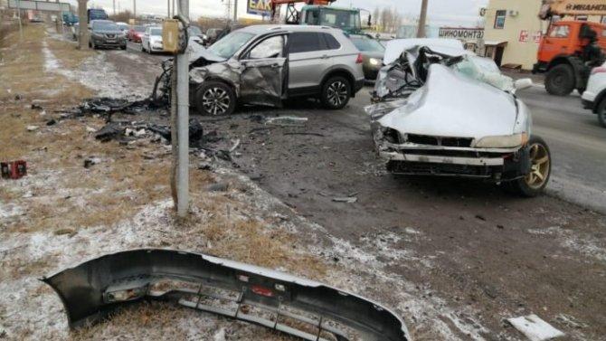 Водитель иномарки погиб в ДТП под Оренбургом