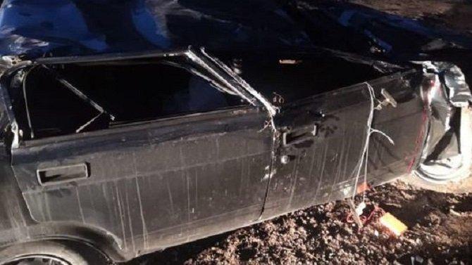 В Башкирии ВАЗ упал с моста – водитель погиб