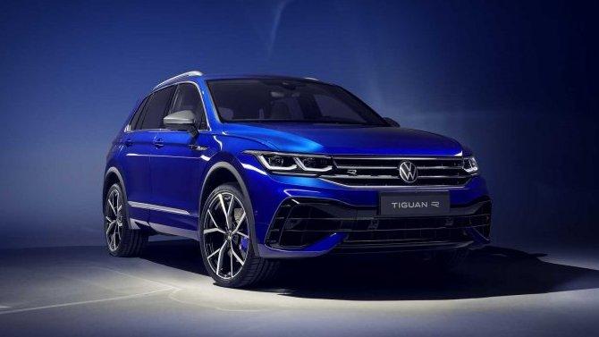 Начались продажи «заряженного» Volkswagen Tiguan R