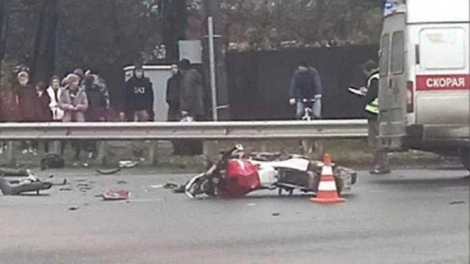 В ДТП с Ленобласти погибли мотоциклист с пассажиром
