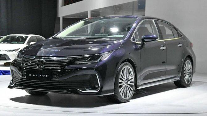 Гуанчжоу-2020: Toyota представила новый седан
