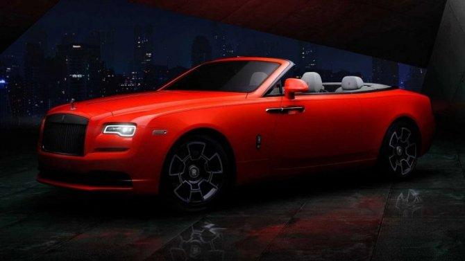 Три модели Rolls-Royce стали «неоновыми»