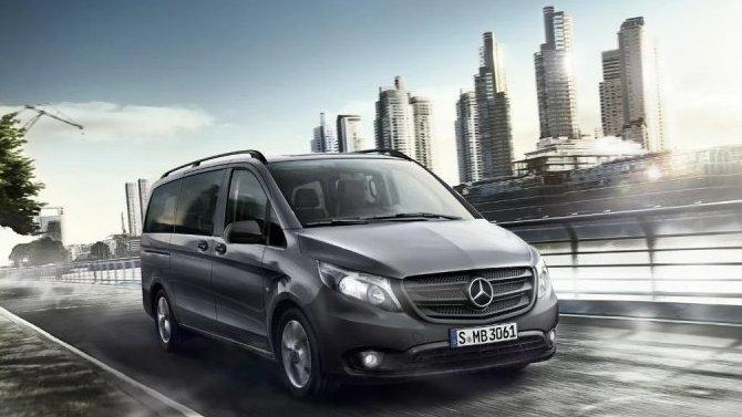 Обновлён микроавтобус Mercedes-Benz Metris
