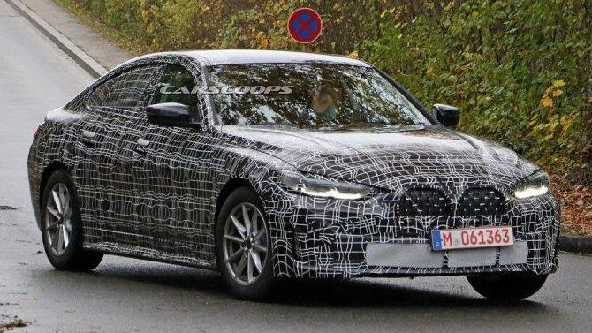 Наиспытания выехал новый BMW 4-Series Gran Coupe