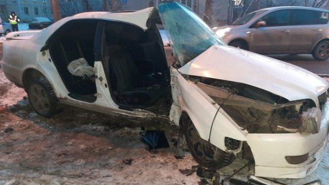 В Красноярске в ДТП по вине пьяного водителя без прав погибла девушка