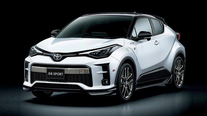 ВЕвропе появится «заряженный» кроссовер Toyota C-HR