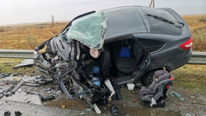 Мужчина и ребенок погибли в ДТП в Пензенской области