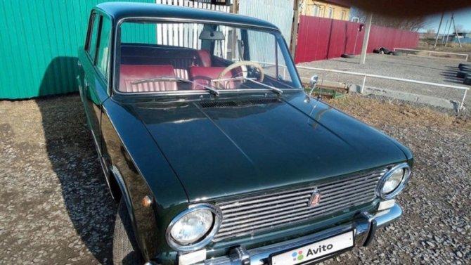 В продаже появился ВАЗ-2101 самой ранней серии