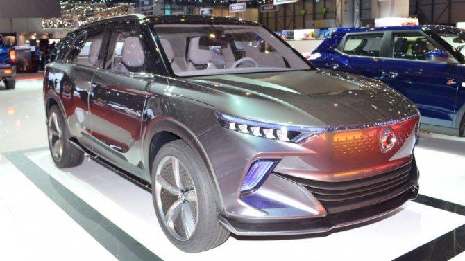 Фирма SsangYong готовит электромобиль
