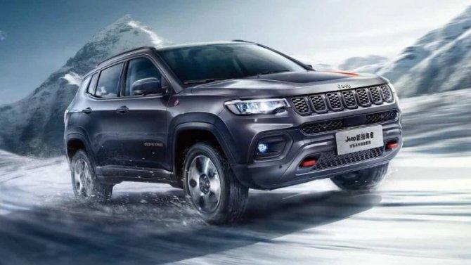 Гуанчжоу-2020: представлен рестайлинговый Jeep Compass