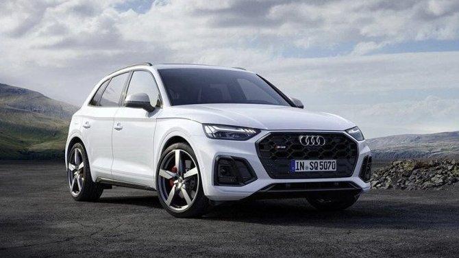ВГермании представлен обновлённый Audi SQ5