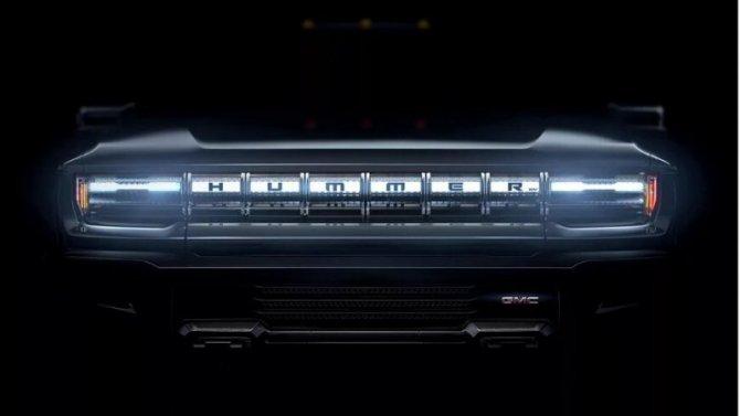 Появился снимок электрического внедорожника Hummer