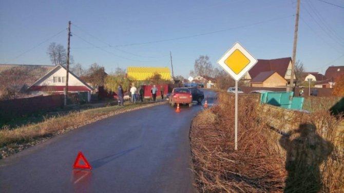 3-летний ребенок пострадал в ДТП в Мичуринске