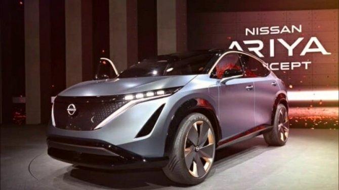 Nissan представит вбудущем году четыре новинки