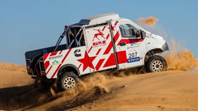 Два автомобиля ГАЗа выиграли III этап Чемпионата России поралли-рейдам