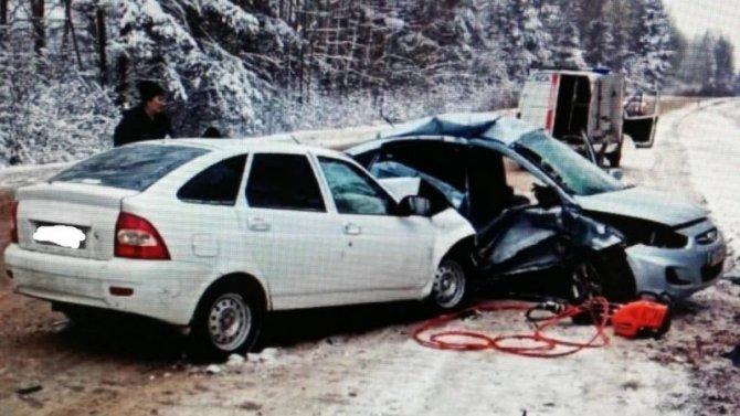 Женщина погибла в ДТП в Уренском районе Нижегородской области