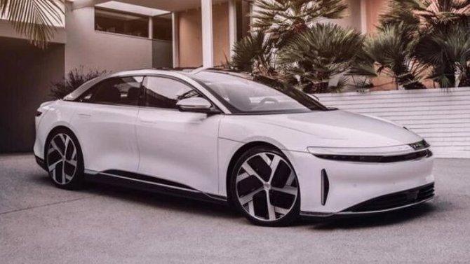 Объявлена начальная цена электромобиля Lucid Air