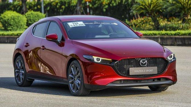 Mazda 3 получила гибридную силовую установку