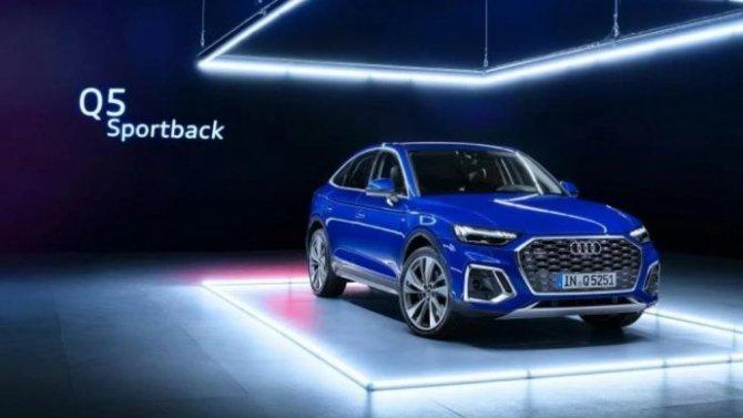 Российская версия Audi Q5 Sportback получит только один двигатель