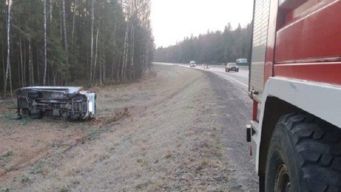 Четыре женщины пострадали в ДТП под Калугой