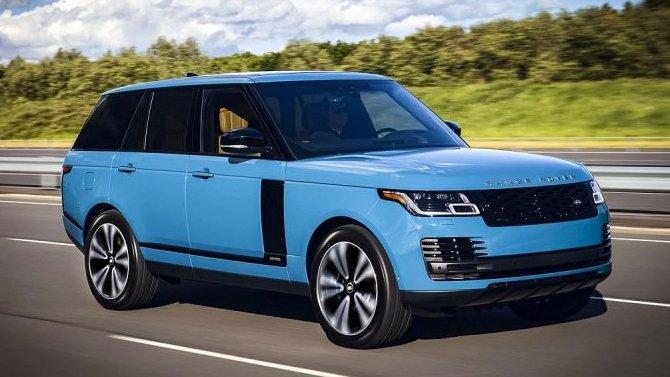 Стартовали российские продажи «юбилейных» Range Rover