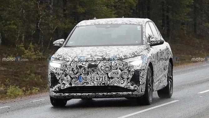 В Швеции испытывается прототип электрокроссовера Audi Q4 е-Tron