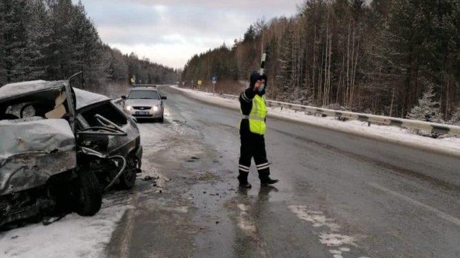 В ДТП на трассе Екатеринбург – Серов погиб водитель
