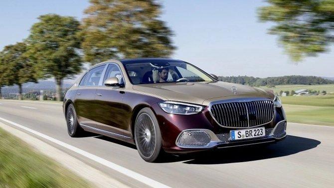 Представлен новый Mercedes-Maybach S-Кlassе